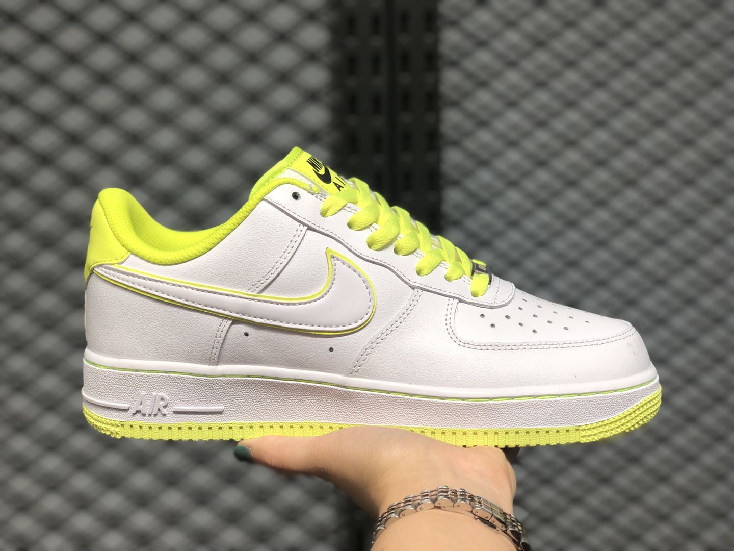 2020 Latest Nike Air Force 1 Low White/Paper Yellow 808128-616