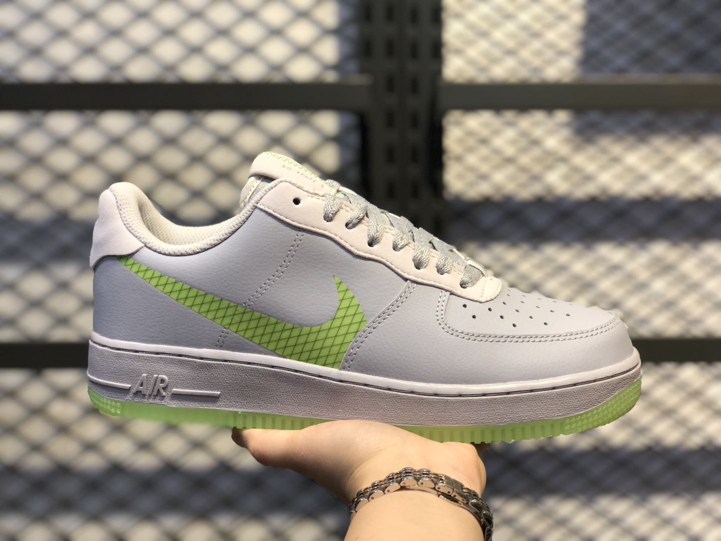 Nike Air Force 1 Low Wolf Grey/Ghost Green CD0888-002