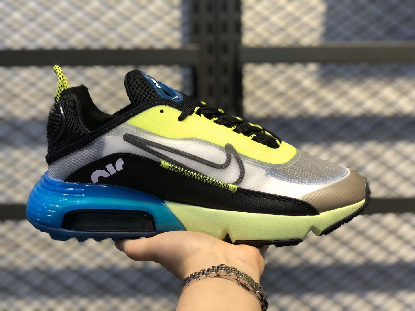 Nike Air Max 2090 Yellow/Multi Color-Blue For Online Sale