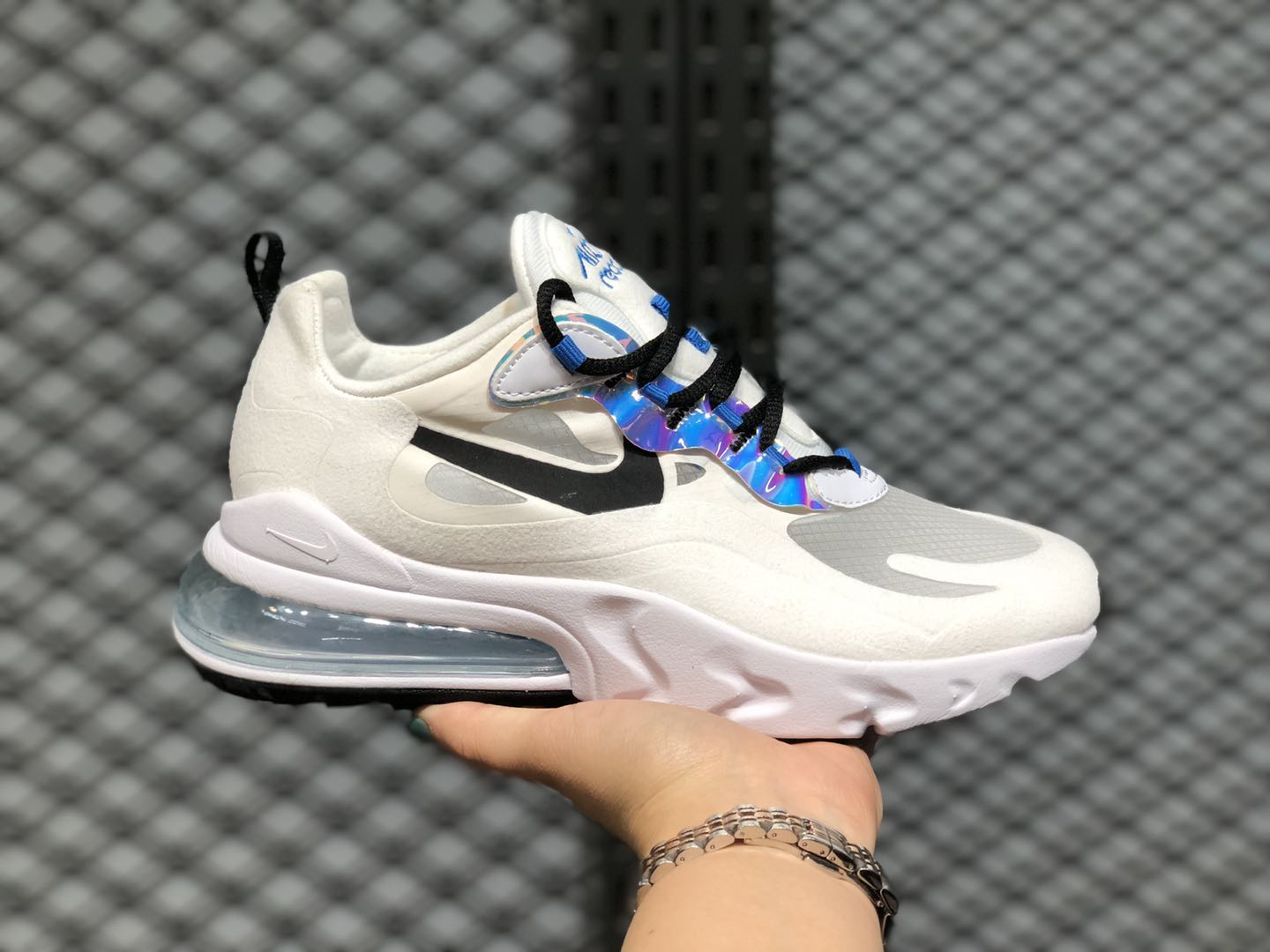 Nike Air Max 270 React Amethyst Tint/Off Noir-Blue Hero CT1613-500