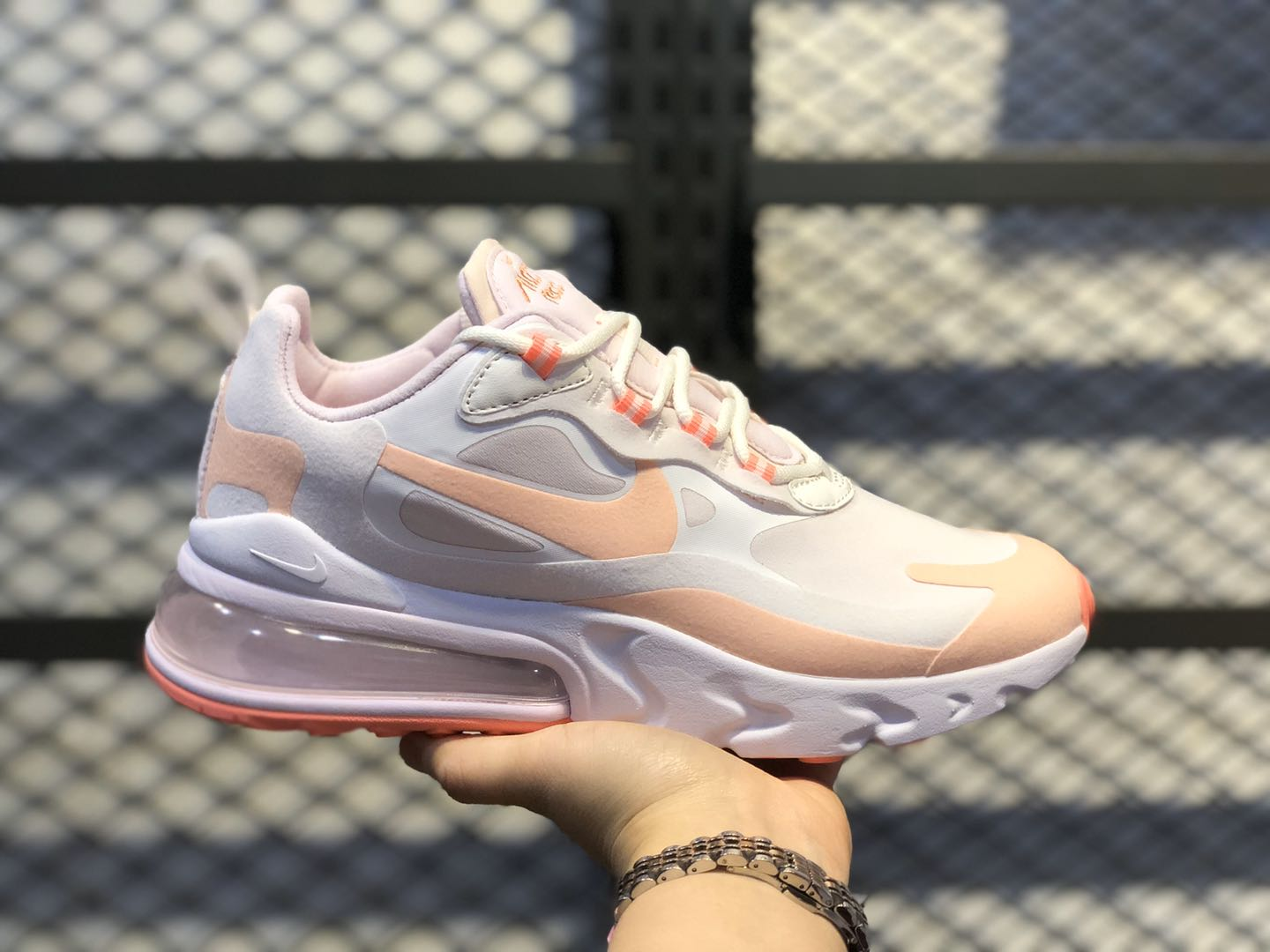 Nike Air Max 270 React Summit White/Crimson Tint/Light Violet CJ0619-103