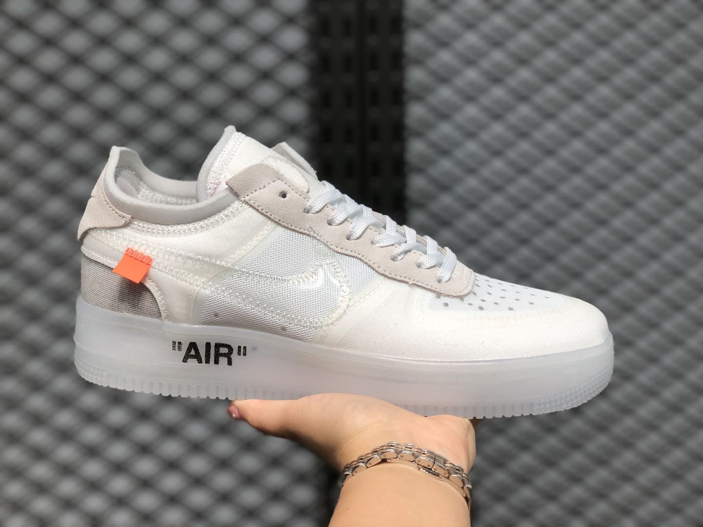 """Off-White x Nike Air Force 1 Low """"The 10"""" White/White AO4606-100"""