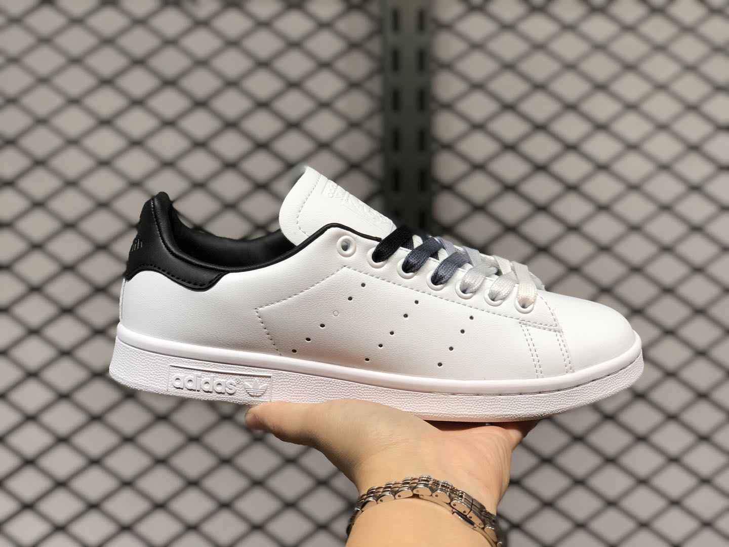 Adidas Stan Smith Shoes EF4689 Cloud White-Core Black For Sale
