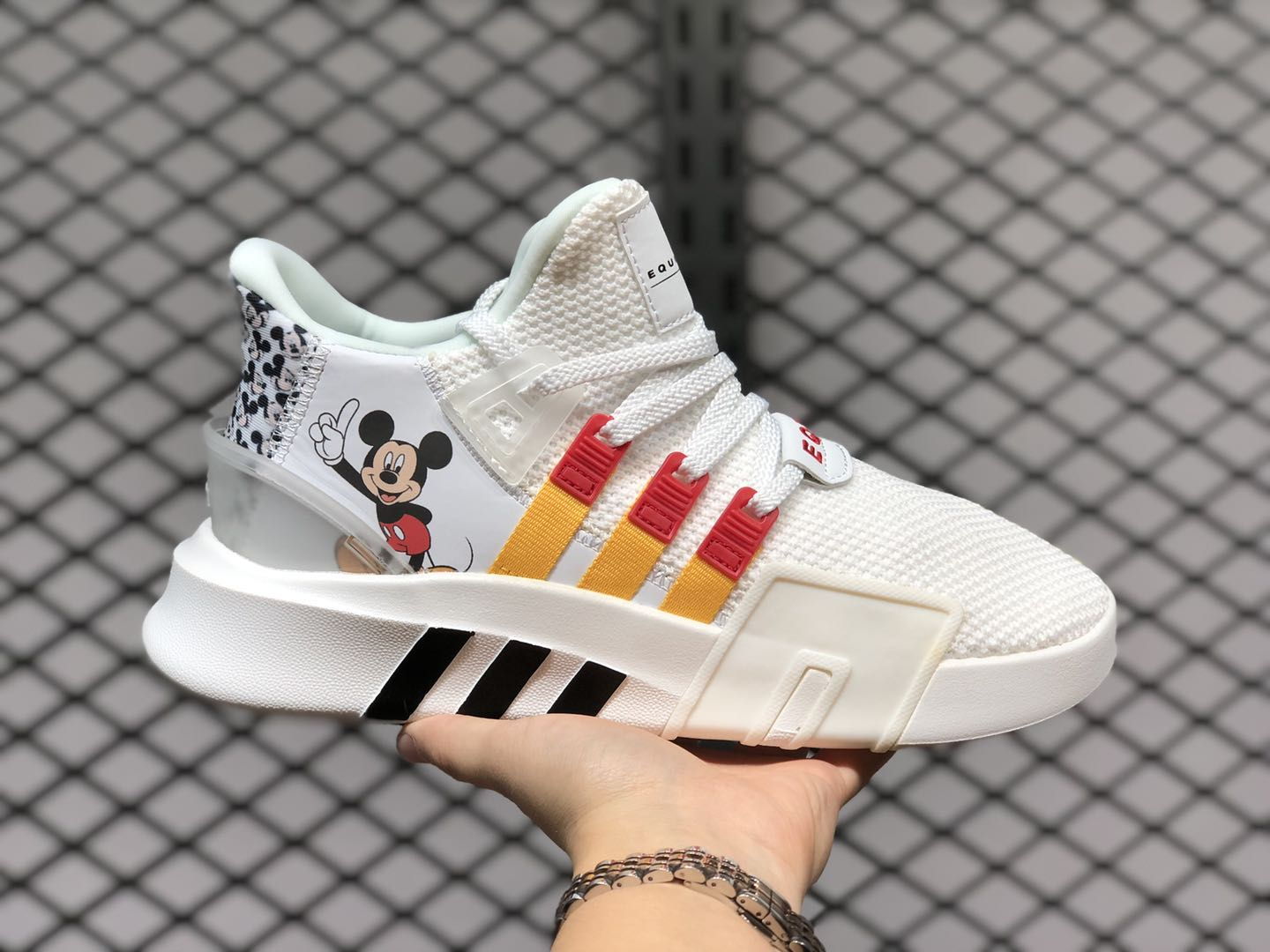 Disney x Adidas EQT Bask ADV Cloud White/Yellow/Red FW2020