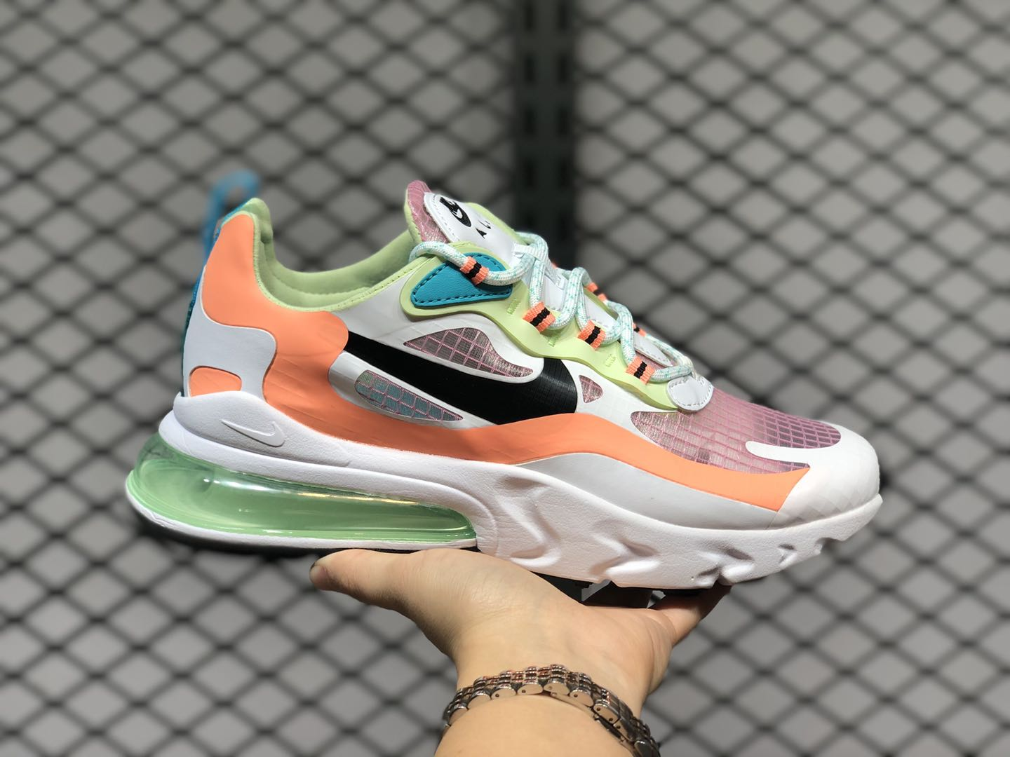 Nike Air Max 270 React GS Light Arctic Pink On Sale CJ0620-600