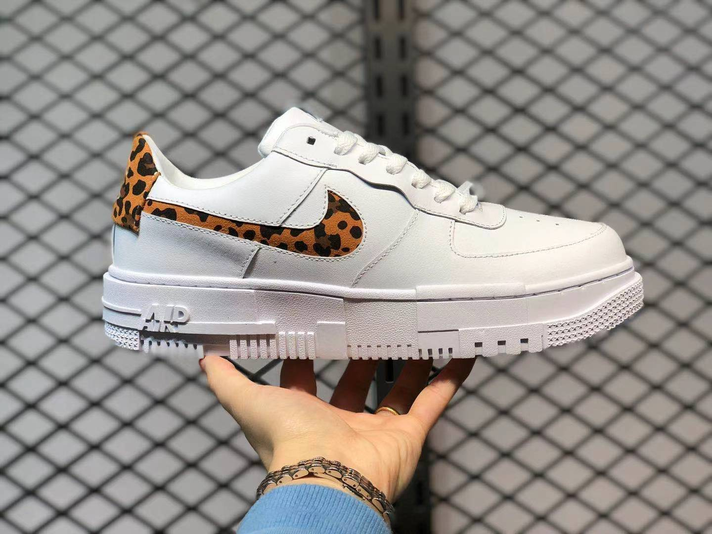 Nike Air Force 1 Pixel Leopard White CV8481-100 To Buy