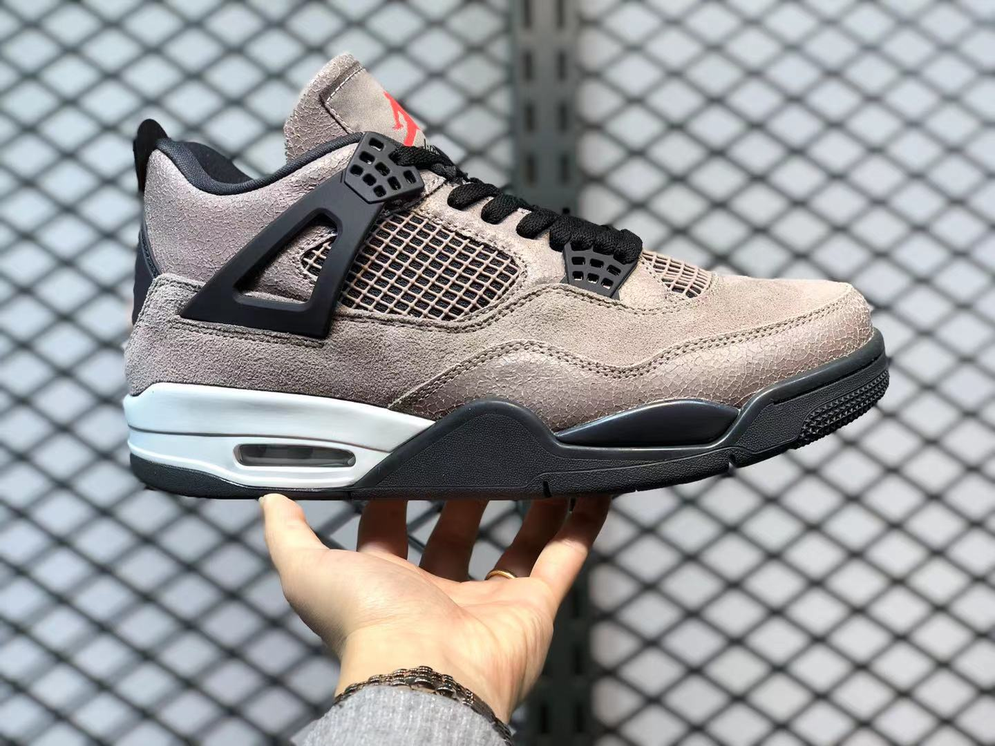 Air Jordan 4 Taupe Haze Oil Grey Off White Infrared 23 For Sale