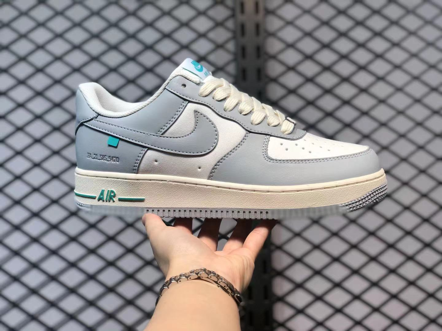 Buy Now Nike Air Force 1 Low White Grey Green