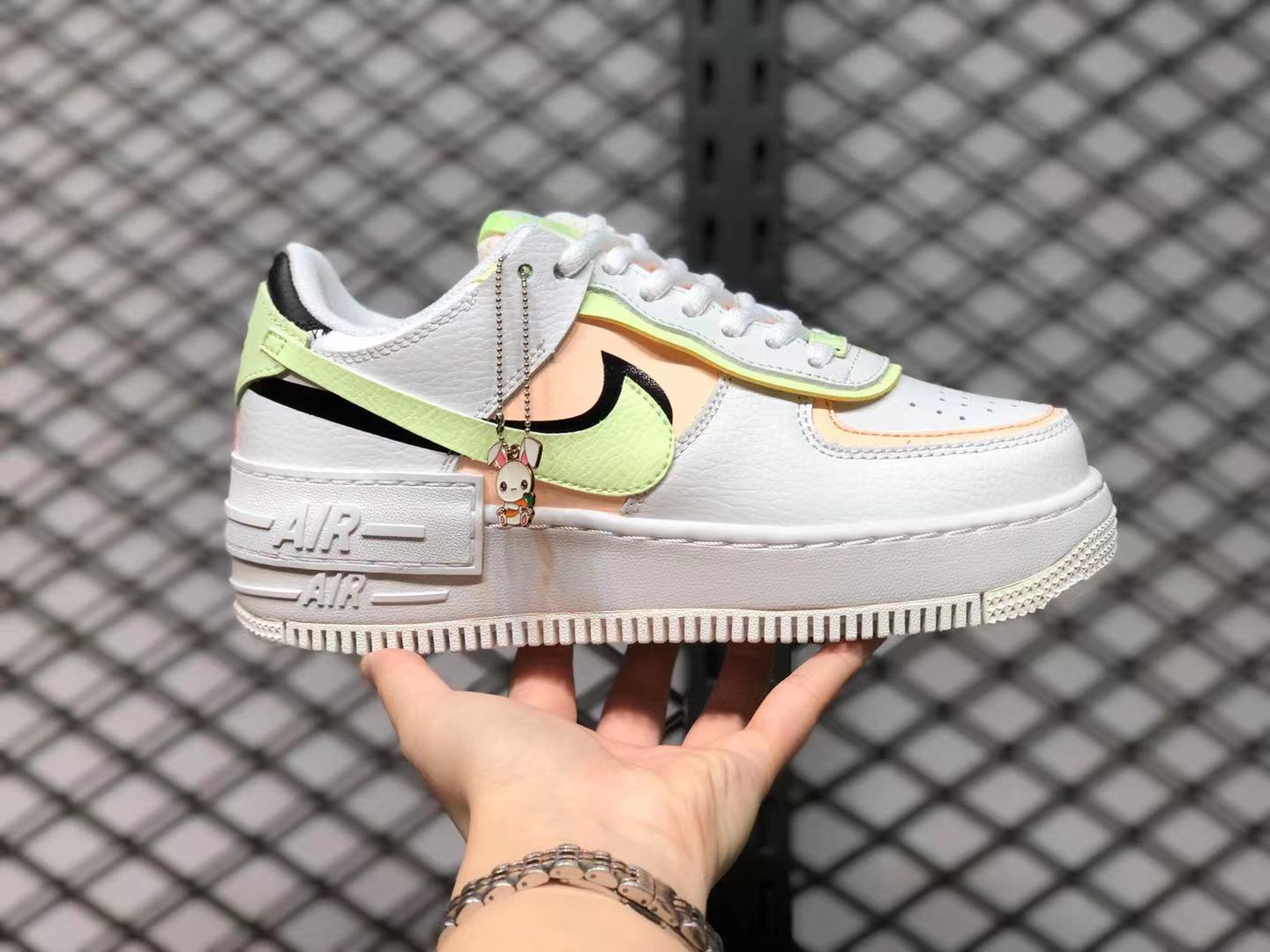 Nike Air Force 1 Shadow Summit White Barely Volt Crimson Tint CI0919-107 To Buy